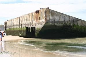 Arromanches les Bains, Normandie.