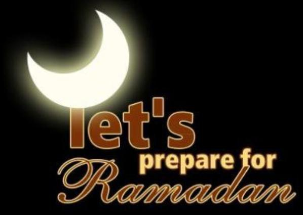 prepare your hearts for Ramadan