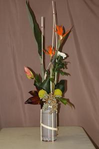 Bouquet en suspension