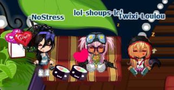 Le Groupes des dormeurs xD