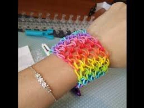 Rainbow loom: se qu'on peut faire avec II