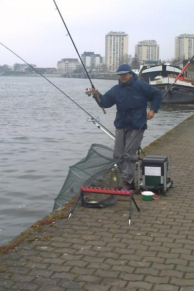 pêche de mars