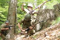 Une sortie terrain dans la drome ou la 36eme DI et la 3 DI mena des combats acharnés