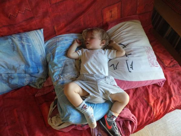Vanlentin fait la sieste