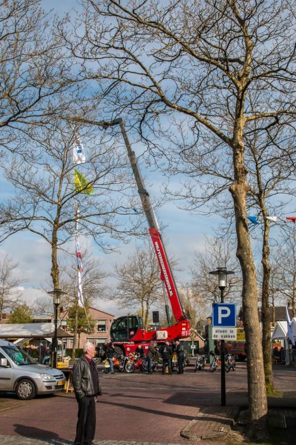 Oldtimer parade show Oldebroek.