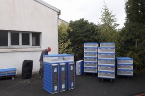 Nettoyage des paniers et du local à la Guingampaise