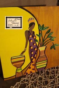 afrique au quilling