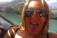 Après midi au barrage d'Emosson, tour en bateau sur le lac et camping le soir !!! Quoi de mieux ?! :0D