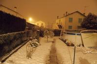neige a oloron 12cm a 10h