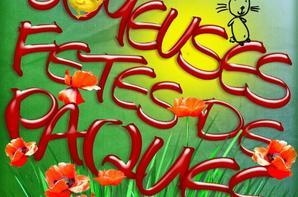 Bon Week-End de PâQues @ Tous ... ;)