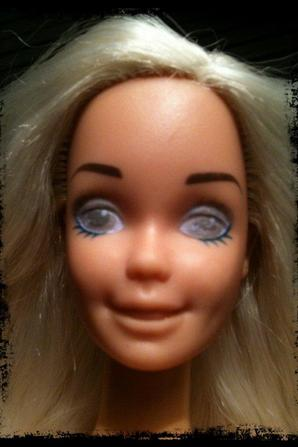 BarbieCustom Paint #21 (Tête Barbie Doudou)