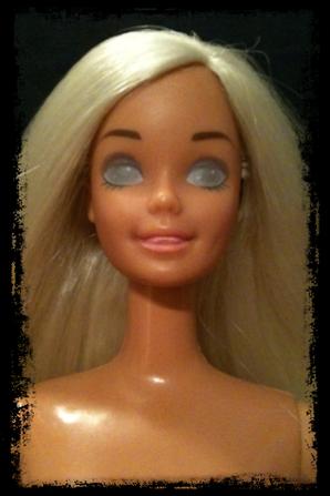 BarbieCustom Paint #22 (Tête Barbie Doudou N°2)