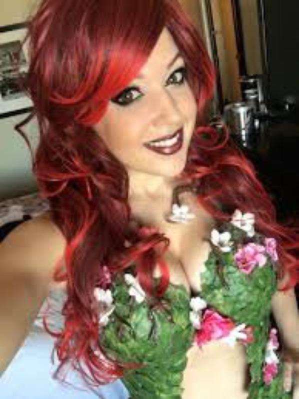 Cosplay de Poison Ivy