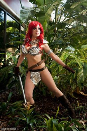 Cosplay de Red Sonja