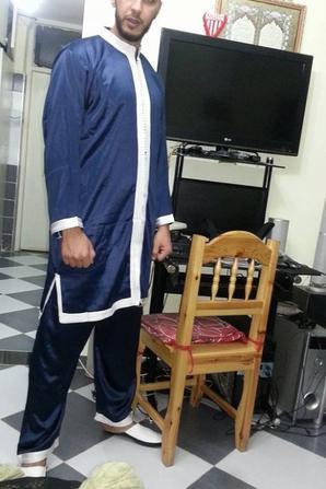 moi  en tenue  de djabador