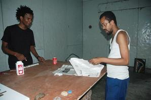 Msuko coiffe est une résidence du Plasticien Seda au CCAC Mavuna