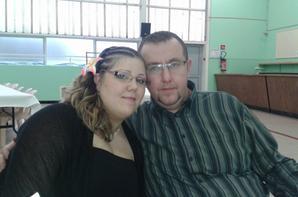 mon chéri ma cousine et moi au repas du javelot