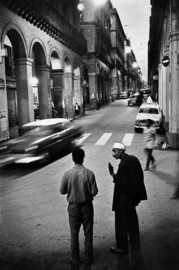 LA RUE DE LA LYRE EN 1963