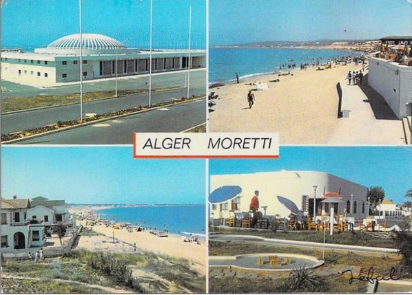 LA PLAGE DE MORETTI ENTRE 1970 ET 1980...