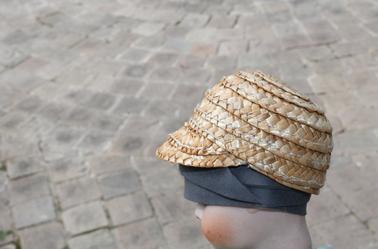 casquette pour Bleuette en cours