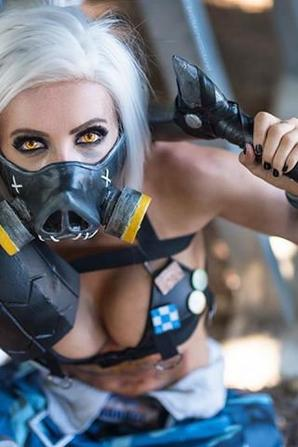 Cosplay de Roadhog (Overwatch)
