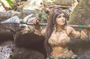Cosplay de Nidalee (League of Legend)