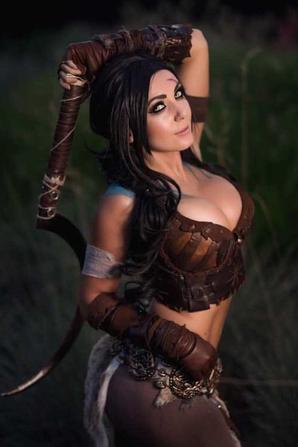 Cosplay de Khal Drogo (Games of Thrones)