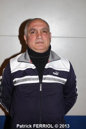 Coach KYRIAKIDIS PRODROMOS et Presidente LEBLOND MARTINE