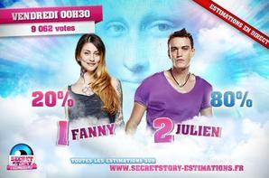 Fanny Quitte l'Aventure #SecretStory - Prime 13.