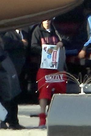 Justin Bieber prend un vol privé à Los Angeles
