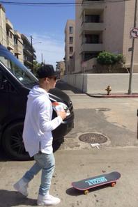 "Justin Bieber trés sexy à Venice Beach, L.A. ""Part 2"""