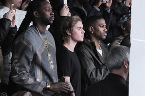 Justin Bieber au the Adidas Kanye West Fall 2015  à New York.