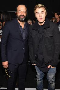 Justin Bieber aux Fashion Show de Naomi Campbell à New York.