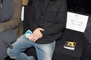 Justin Bieber aux Fashion Show de Naomi Campbell à New York.