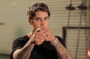 Justin Bieber dans les coulisses du tournage pour le magazine Men's Health