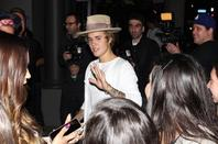 "Justin Bieber au "" The Grafton"" à West Hollywood, Californie."