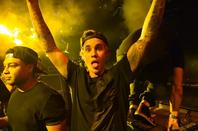 Justin Bieber au ULTRA à Miami, en Floride.