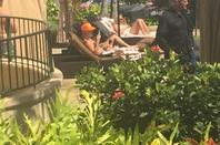 Justin Bieber trés sexy à Kauai, Hawaï.