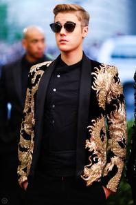 Justin Bieber au Met Gala à New York