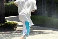 Justin Bieber trés hot nous montrant ses belles fesses bombés avec son collant pour homme Nike Pro Hypercool Three-Quarter Compression