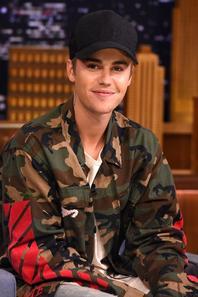 Justin Bieber dans l'émission The Tonight Show avec Jimmy Fallon
