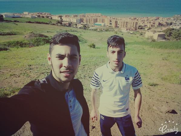 Avec Mon POte Imad