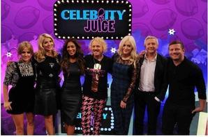 17.10.2013 : caroline à celebrity juice