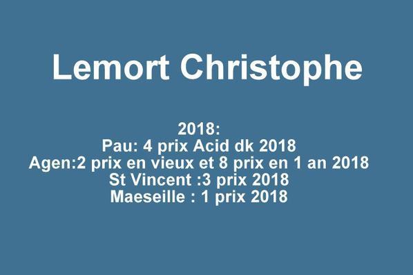 Bon n° 83 Lemort Christophe