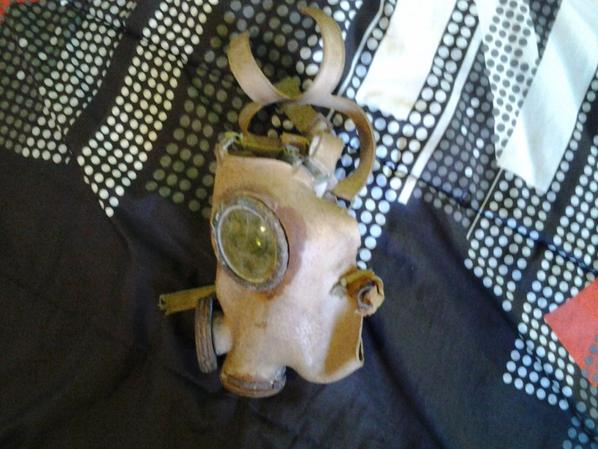 masque a gaz ww2