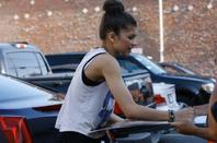 Zendaya allant aux répétition de #DWTS, le 10/05/2013