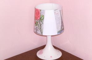 lampe de chevet paris blanche