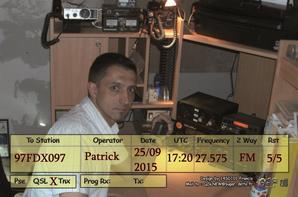 EQSL recu de 14AR255 SYLVAIN DEP 31 EN FM