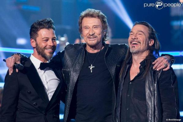 Grand show de Johnny Hallyday