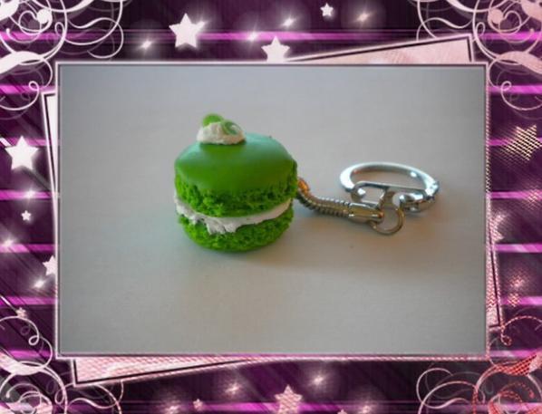 Porte Clefs Macaron